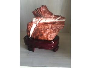 青岛猪肉石腊肠奇石天然原石腊肉贡石奇石礼品收藏