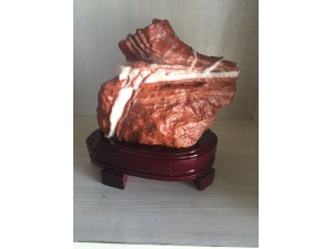 青岛奇石天然石头腊肉红烧肉五花肉原石猪肉石天然观赏石新疆彩玉