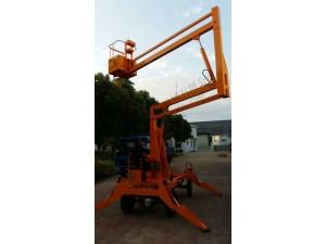 折臂式高空作业车柴油机可驾驶行走园区专用升降车