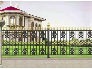 天津铝艺庭院门,天津别墅铝艺大门,天津别墅铝艺护栏围栏定制