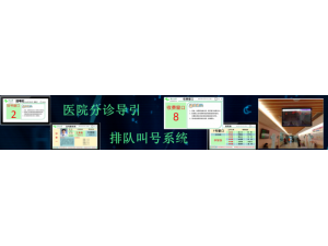 北京天良医院分诊导引排队叫号系统