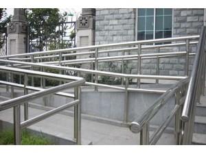 海淀区焊接不锈钢货架宣传栏订做护栏扶手