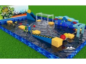 水上冲关项目、竞技水上闯关项目比较好玩