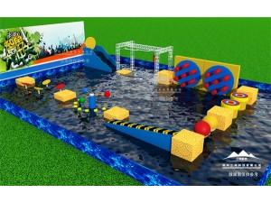 郑州水上冲关赛道机械设备的制造