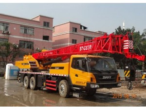 出售新款三一25吨四节臂吊车