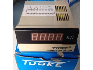 上海托克DB4-W250KW智能数显直流功率表