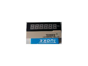 上海托克DB6-RO300KHz智能数显频率转速线速度表