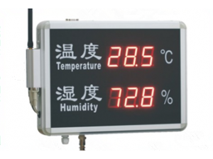 上海托克TE-RHT系列温湿度无线报警显示屏
