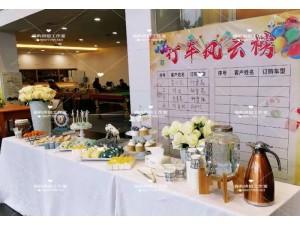 南宁车展高端冷餐茶歇年终庆典甜品台