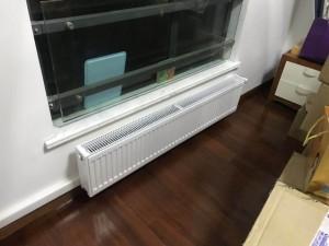 无锡老房子安装酷牌暖气片效果图片