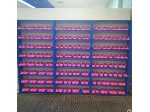 简易学校教室收纳鞋柜塑料组装学生鞋架多层
