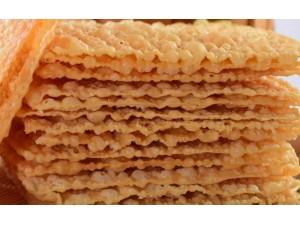 北京薄脆批发 格子薄脆 传统手工大薄脆 半手工薄脆