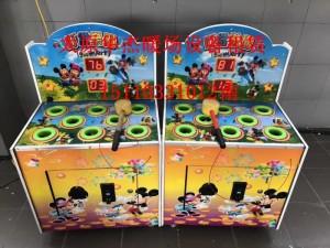忻州真人抓娃娃机租赁儿童七彩打地鼠机租赁忻州炫酷跳舞机租赁