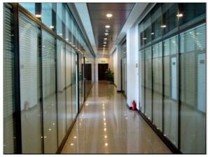天津咸水沽制作双玻百叶玻璃高隔价格