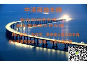 2019年港珠澳大桥FV车牌最新申请条件和指标数量