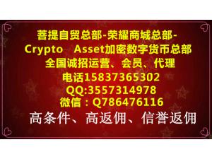Crypto Asset 加密资产交易所诚招代理进行中