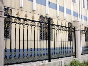 天津铁艺门窗厂,东丽区定做铁艺围栏厂家