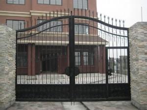 天津铁艺大门,铁艺电动门,铁艺围栏,铁艺护栏