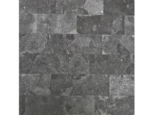 佛山批发复古黑色马赛克纹石塑地胶板 仿北欧瓷砖PVC塑料地板