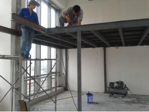 北京通州区钢结构二层搭建设计施工做室内钢结构阁楼隔层