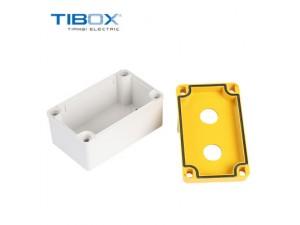 TIBOX户外防水开关按钮盒 可开孔 开关接线盒 IP66