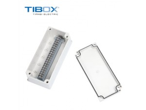 TIBOX户外防水端子接线盒 可开孔 电气盒 IP66