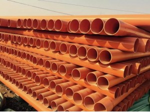 通州轩驰管业生产cpvc电力管河北厂家直销承插口链接施工简便