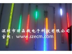 供应LED七彩流星灯IC,控制LED流水灯IC