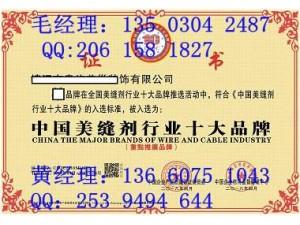怎样申报中国行业十大品牌证书