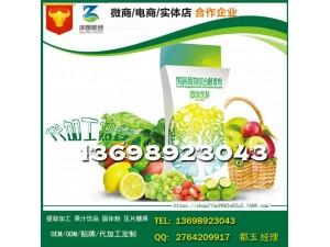 上海附近品牌商酵素蓝莓粉固体饮料代工oem贴牌厂