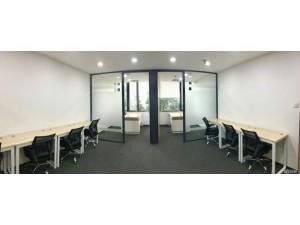 可园旁90平办公室出租 精装修全新办公室