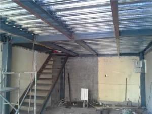 北京房山区搭建阁楼室内加建钢结构隔层搭建制作阁楼楼梯