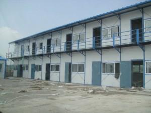 承接定制活动房、彩钢房搭建钢结构技术精湛