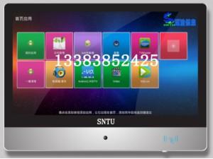 深途SNTU双目动态人脸识别CPU读卡智慧电子班牌率先上市