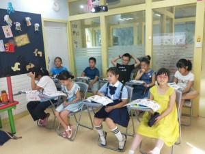 青岛新概念英语1培训学生班