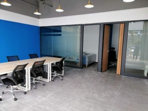 布吉1 1格局精装修办公室,可地址挂靠出红本无中介