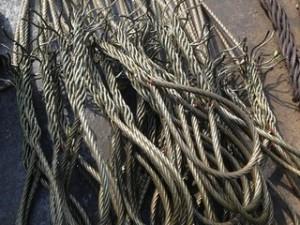 长年高价收购各种新旧钢丝绳库存钢绞线北京钢丝绳油丝绳回收