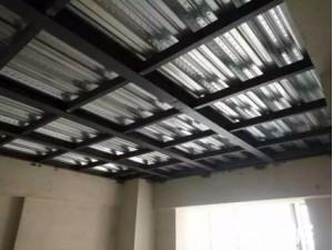 沧州搭建钢结构厂房库房夹层隔层做底商钢结构二层北京亿顺鑫专业