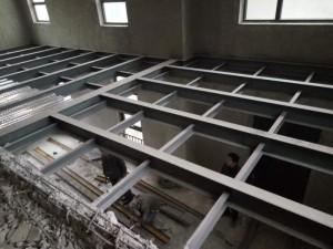 北京店铺二层搭建混凝土夹层制作施工专业