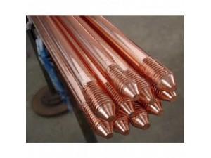 铜包钢接地棒 防雷引下线 镀铜接地针导电体