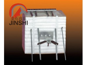 热镀锌炉新型保温材料硅酸铝模块陶瓷纤维毯