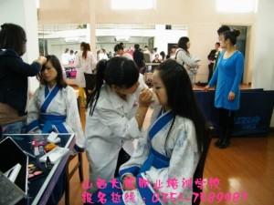 太原化妆培训学校 手把手教学 安排就业