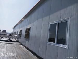 涞水彩钢房安装彩钢板搭建