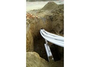 房山区机场电力管道过路顶管 水管过路打孔拉管顶管