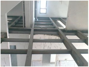 北京钢结构隔层加固制作安装