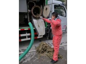 上海市闵行区清理污水管道淤泥