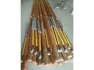 电解离子导电桩 镀铜接地棒 热熔焊接模具 石墨模具