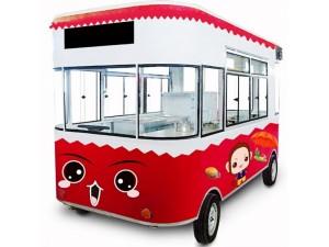 电动餐车多功能小吃车