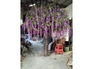 天津假树厂家订做批发仿真树厂家出租各种假树