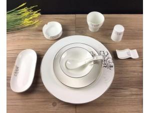 酒店餐具厂家 饭店陶瓷餐具
